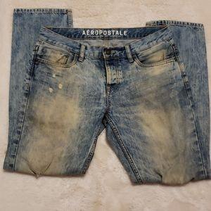 Aeropostale Bowery Slim Straight Jeans 31/30
